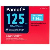 Pamol F 125 mg dispergoituva tabletti 12 läpipainopakkaus