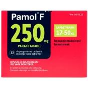 Pamol F 250 mg dispergoituva tabletti 12 läpipainopakkaus