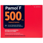 Pamol F 500 mg dispergoituva tabletti 12 läpipainopakkaus