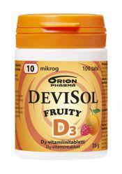 Devisol Fruity 10 µg 100 tabl.