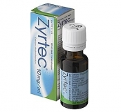 Zyrtec 10 mg/ml tipat 20 ml