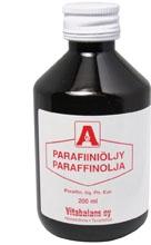 Parafiiniöljy Vitabalans 200 ml