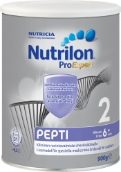 Nutrilon Pepti 2 ravintovalmiste 900 g