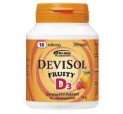 Devisol Fruity 10 µg 200 tabl.