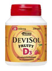 Devisol Fruity 20 µg 200 tabl.