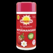 Minisun D-vitamiini Metsämansikka 20 µg 200 tabl.