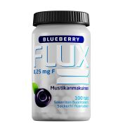 Flux Blueberry fluoritabletti 100 imeskelytablettia