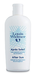 Louis Widmer After Sun tuoksuton 150 ml