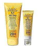 Louis Widmer All Day tuoksuton suojakerroin 20+ 100 ml