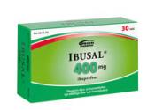 Ibusal 400 mg tabletti, kalvopäällysteinen 30 läpipainopakkaus
