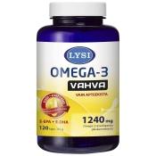 Lysi Omega-3 Vahva 120 kaps.