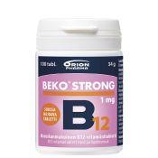 Beko Strong B12 1 mg 100 tabl. suussa hajoava