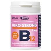 Beko Strong B12 1 mg 150 tabl. suussa hajoava