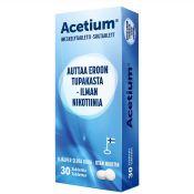 Acetium eroon tupakasta 30 imeskelytablettia