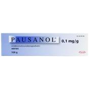 Pausanol 0,1 mg/g emätinvoide 100g asettimella