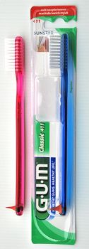 Gum 411M Classic hammasharja pehmeä 1 kpl