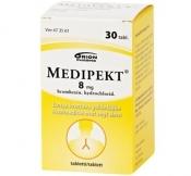 Medipekt 8 mg tabletti 30