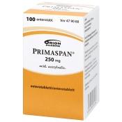 Primaspan 250 mg enterotabletti 100 tabl