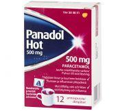 Panadol Hot 12 jauhepussia juomaa varten 500 mg