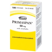 Primaspan 50 mg enterotabletti 100 tabl