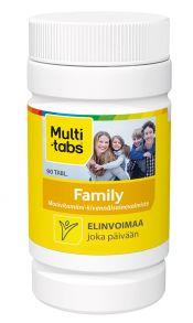 Löytö! Multi-tabs Family 90 tabl. (parasta ennen 11/19)