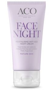 Aco Revitalising Anti Age Night Cream aikuiselle iholle 50 ml