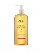 ACO Body Caring Shower Oil 400 ML mieto tuoksu