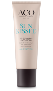 Aco Sun Kissed Self-Tanning Face Cream 50ml