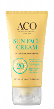 ACO Sun Face Cream Intensive Moisture SPF 20 50ml