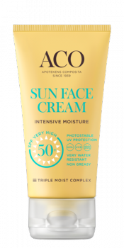 ACO Sun Face Cream Intensive Moisture SPF 50+ 50ml