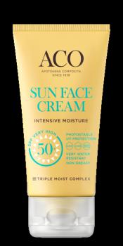 ACO Sun Face Cream Intensive Moisture SPF 50+ 50ml
