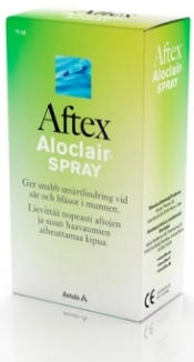 Aftex Aloclair spray 15 ml