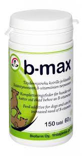 B-Max B-vitamiinivalmiste 150 tabl.