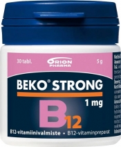 Beko Strong B12 1 mg 30 tabl.