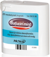 Bafucin Mint imeskelytabletti 25