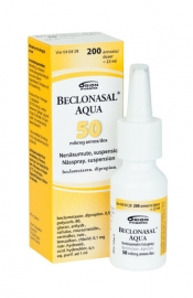 Beclonasal Aqua 50 µg nenäsumute, suspensio 200 ann.