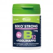 Beko Strong B12+foolihappo+B6 1 mg 100 tabl.