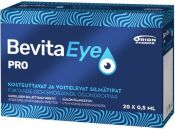 Bevita Eye Pro silmätippa 20x0,5 ml pipetti