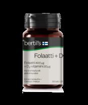 bertils Folaatti + D3 90 tabl.