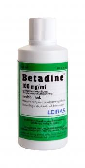 Betadine 100 mg/ml paikallisantiseptiliuos 100ml