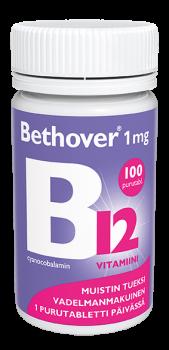 Bethover B12-vitamiini 1 mg 100 tabl.