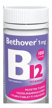 Bethover B12-vitamiini, 1 mg