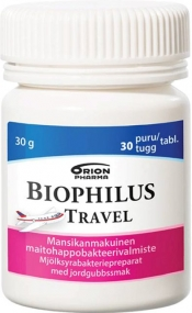 Biophilus Travel Strawberry Chew 30 purutabl.