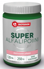Bioteekin AlfaLipoiini 250 mg 120 tabl.