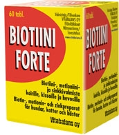 Biotiini Forte vet 60 tabl.