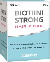 Biotiini Strong Hair&Nail 60 tabl.
