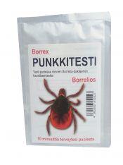 Borrex-punkkitesti kotikäyttöön 1 kpl