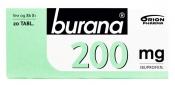 Burana 200 mg tabletti, kalvopäällysteinen 20 läpipainopakkaus