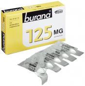 Burana 125 mg peräpuikko 10