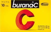 Burana-C tabletti, kalvopäällysteinen 10 läpipainopakkaus